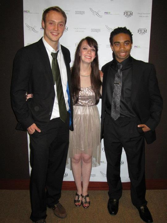 (from left to right) Dir. of Photography: Robby DeVillez, Director: Jenn Marlis, Screenwriter: Matthew Robinson