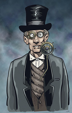 Tom Luth Concept Illustration Ver. 4 Professor