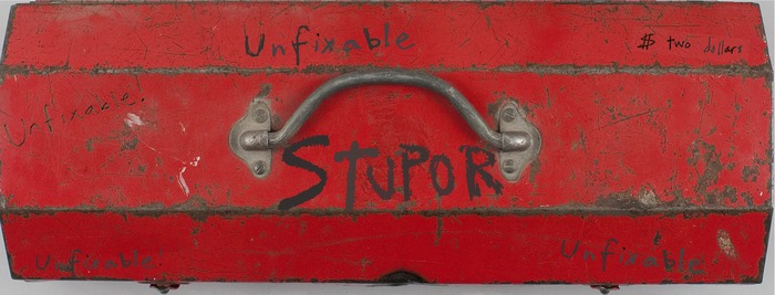 The cover art for the newest Stupor: UNFIXABLE