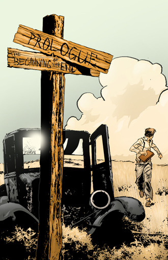 Endtime: The Arrival (Prologue title page)