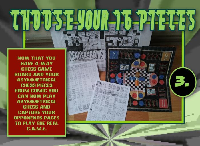 4-way chess G.A.M.E. & Monopoly combo.