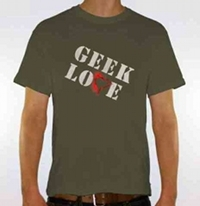 Unisex Geek Love T-shirt