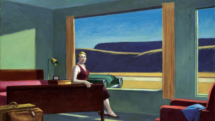 'Western Motel' by Edward Hopper