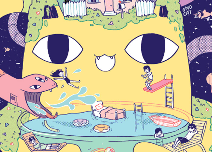 "Preview of OMOCAT's story ""Omori's Story"""