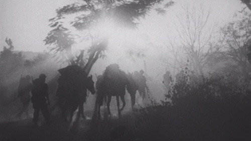 Still from U.S. Army footage of Merrill's Marauders - U.S. National Archives