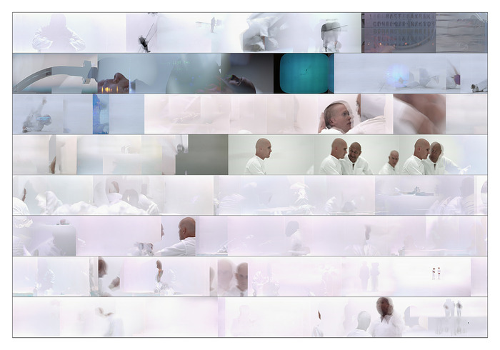 THX1138 by Kurt Ralske, from his Motion Extraction Series. digital print
