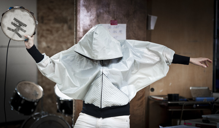 Secret Drum Band windbreaker by Heather Treadway