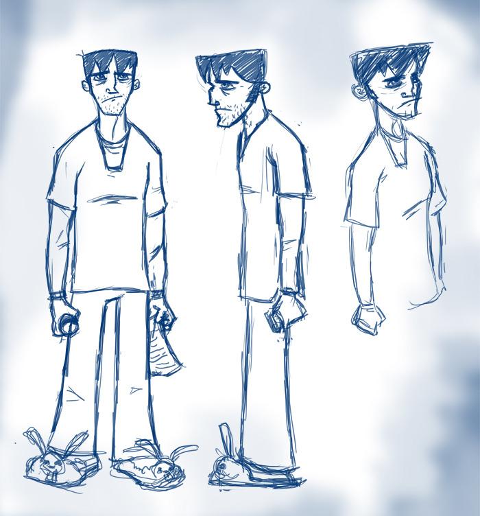 Austin's Original Concept Art For Jim