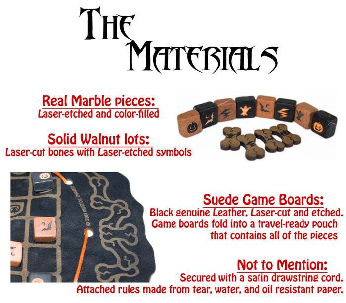 Click for more information about the materials!