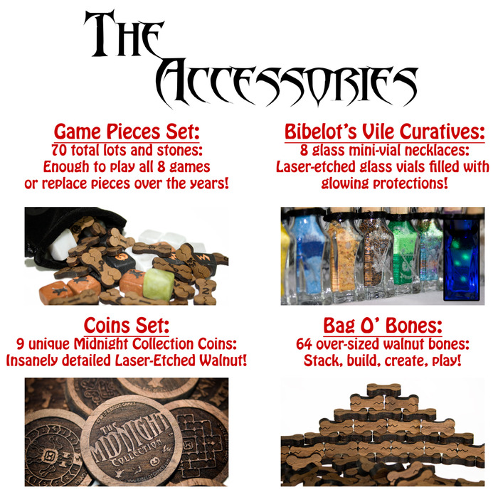Click for more information about the accessories!