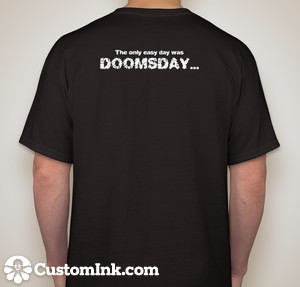DOOMSDAY T's - Back