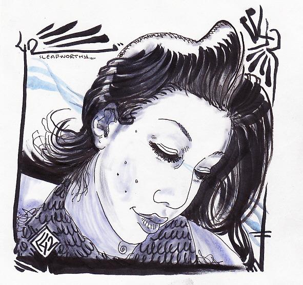 Pen and Marker portrait