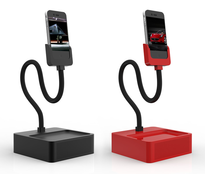 Limited Edition Matte Black and Ferrari Red Foundation Dock