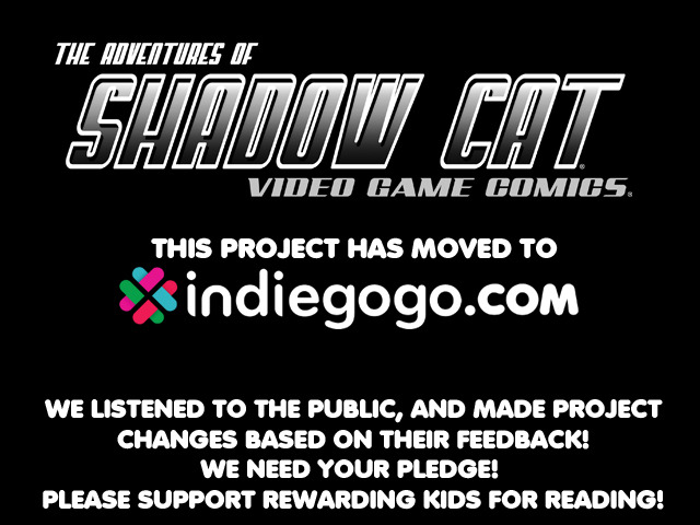 The Revised Shadow Cat Video Game Comics Project