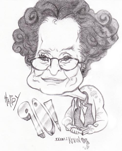 Pencil Caricature