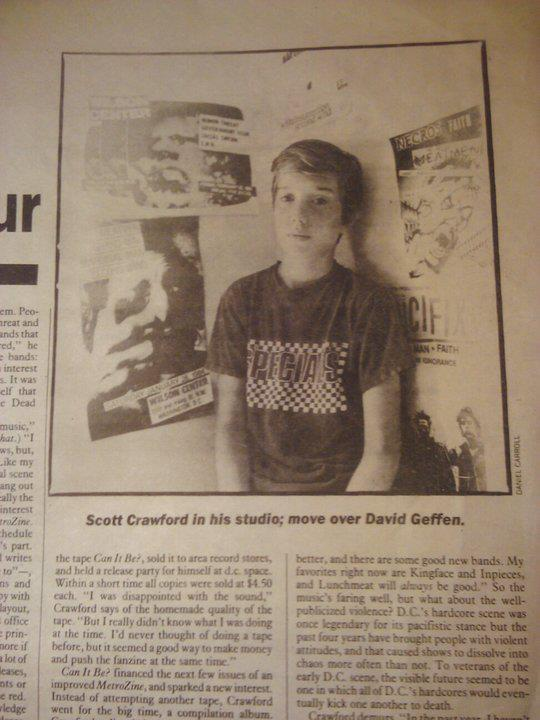 "An August 1985 Washington City Paper article on Crawford entitled ""Punktrepeneur""..."