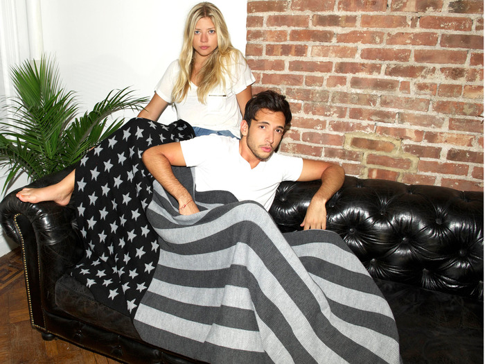 The Votary / BCG Blanket (VNY1015 Flag Blanket)