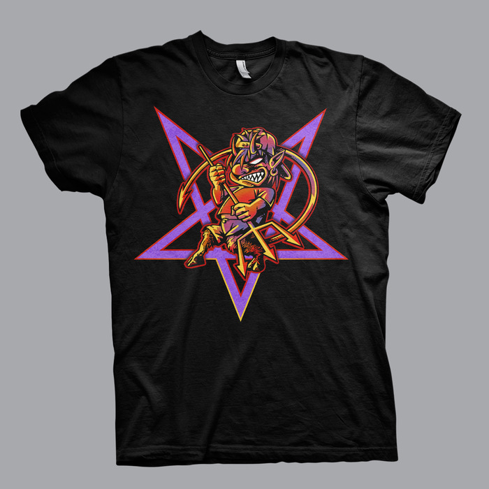 Pentagram Kid Tour Tee