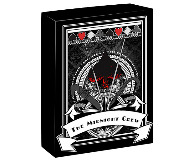 Midnight Crew playing cards deck