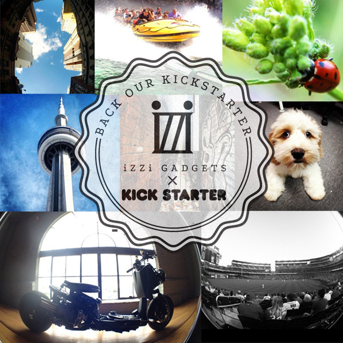 Photos taken with the iZZi