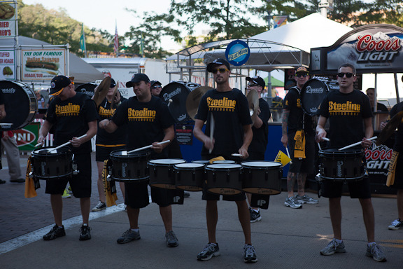 The Steeline jammin' at Heinz Field Rib Fest!