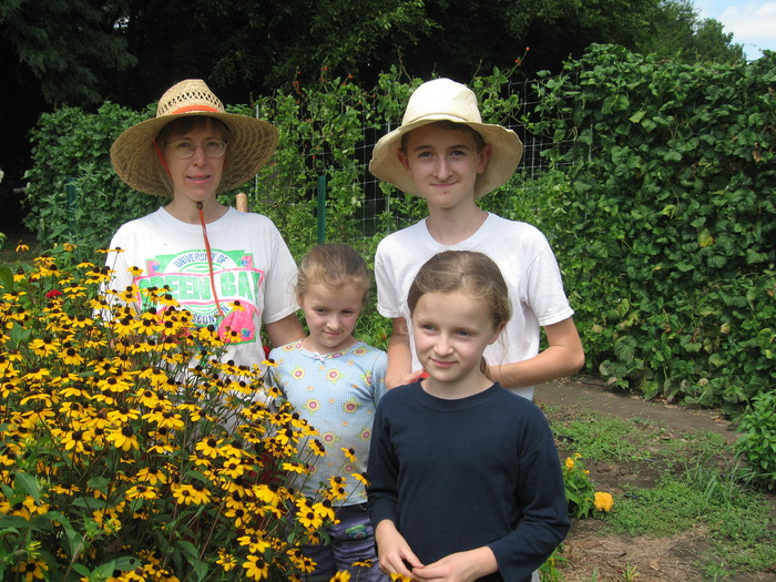 The Haszard family completed their third year at Sunset Community Farm in 2012
