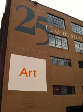 25 Commerce, where the art will be displayed