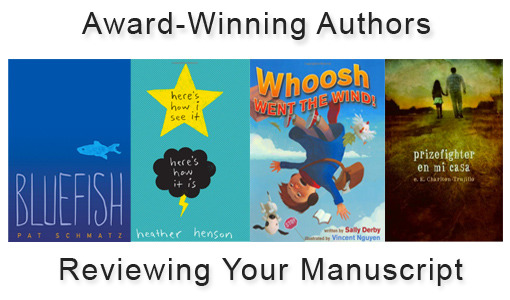 One Reward Gets You A Critique By One Of These Multiple Award-Winning Authors