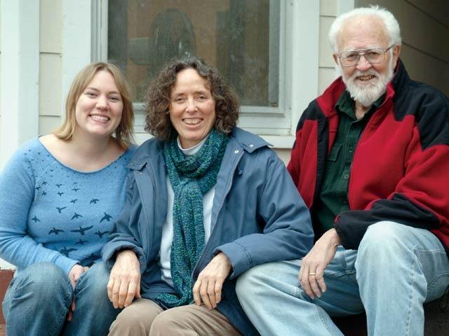 Community Solutions Staff: Jeanna Breza, Faith Morgan and Pat Murphy