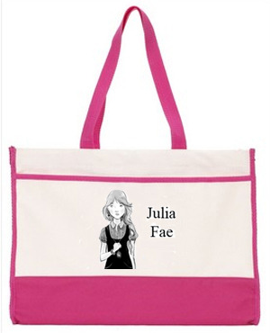 Tote Available with the Julia Fae Gift Bundle, Fairy Librarian, Fairy Dust and Celtic Education Levels.