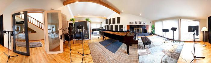 The Piano Studio In Seatte, WA - This Is Where I Recorded The Music