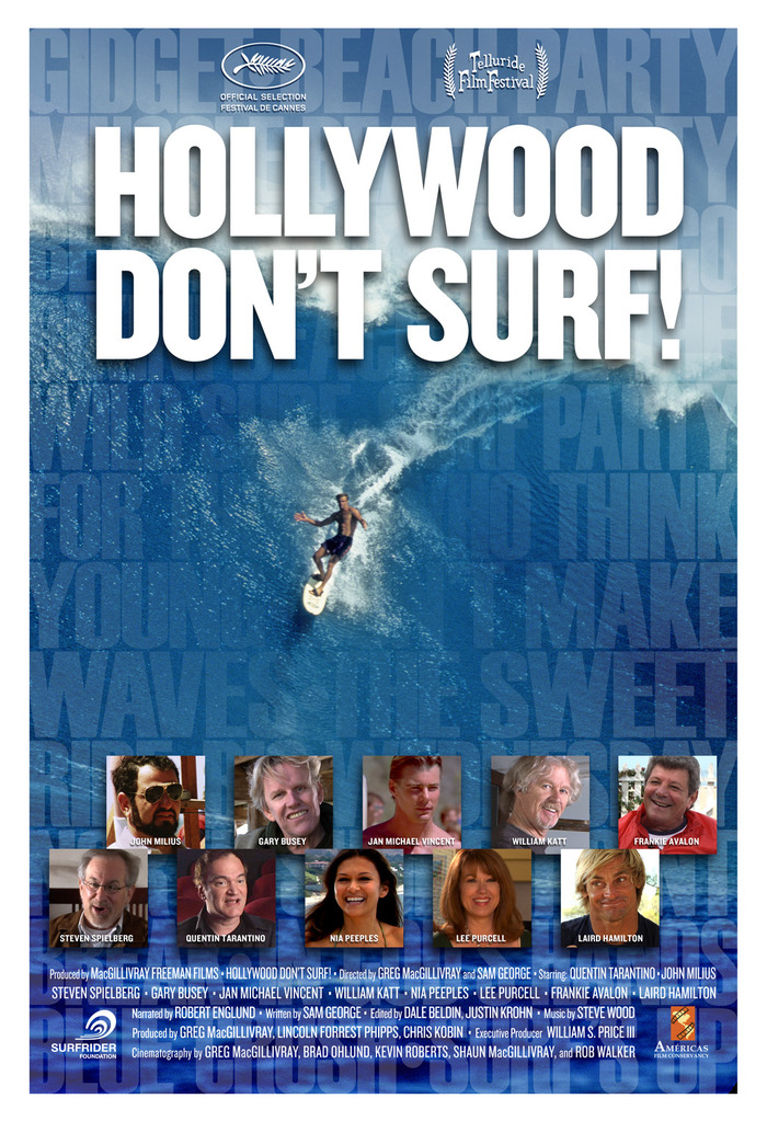 Cannes poster from Hollywood Don't Surf!