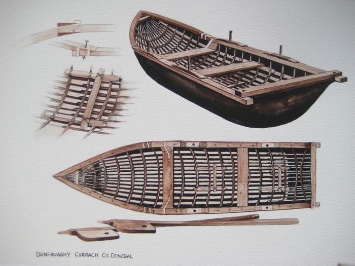 Currach Design by Donal