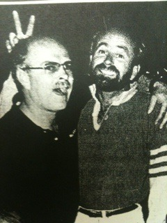 Jim and Art Mitchell, circa mid-1980s