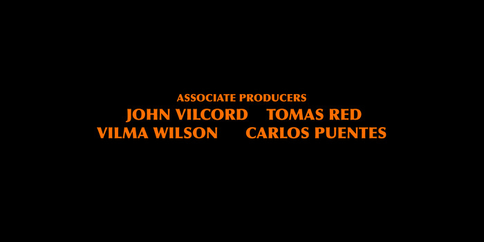 Graphic 3 - Contributors will appear on the opening credits as associate producers