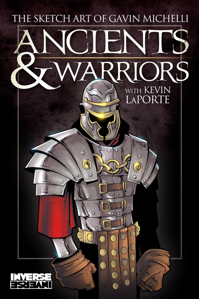 Final Cover Art for Ancients & Warriors!