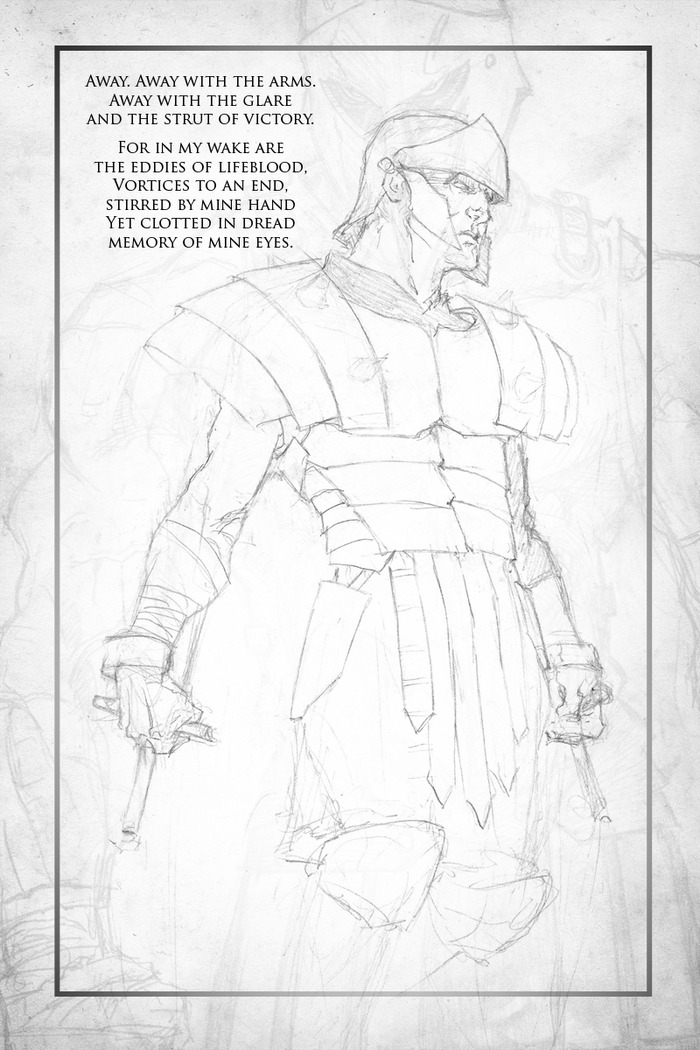 A Sample Page from Ancients & Warriors!