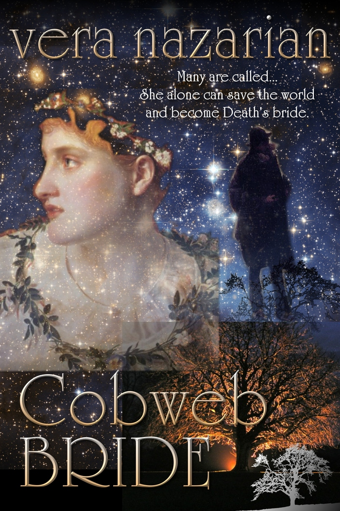 Cobweb Bride -- cover image, designed by Vera Nazarian