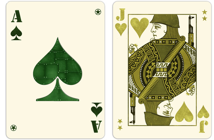Ace of Spades and Jack of Hearts