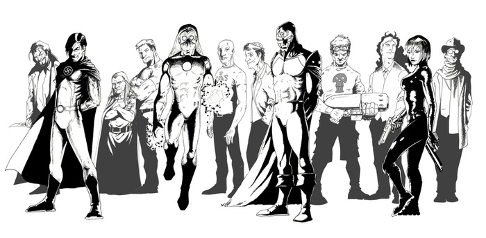Villains (RF)United, by artist Steve Bentley.
