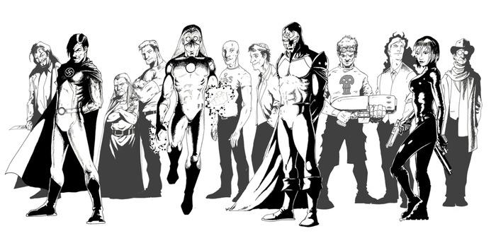 Villains (RF)United, by artist Steve Bentley.