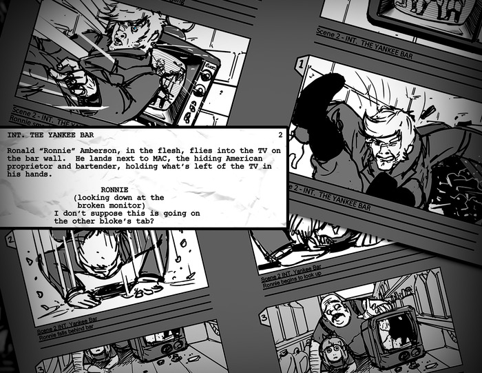Storyboards & Script Excerpts