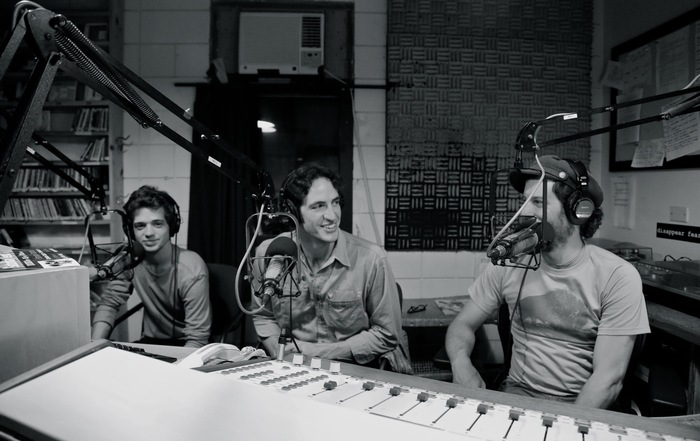 David and Matthew being interviewed at WGDR in Plainfield, VT.
