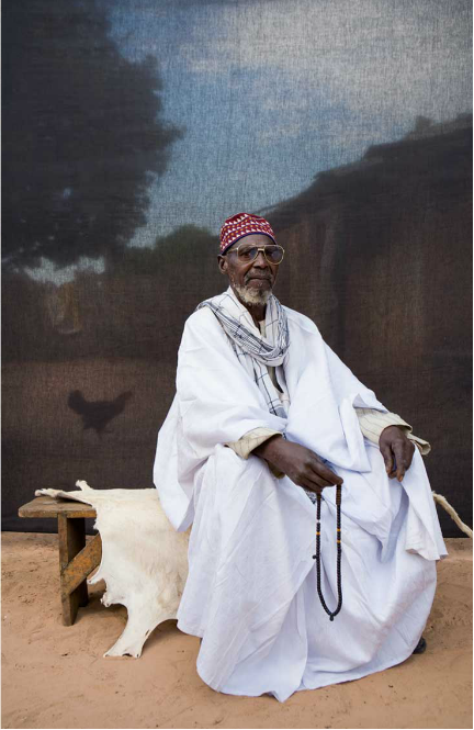 'Silafando - a gift to you on behalf of my journey' © Jason Florio - award-winning portraits of village chiefs and elders from the 2009 'A Short Walk in the Gambian Bush' West Africa expedition