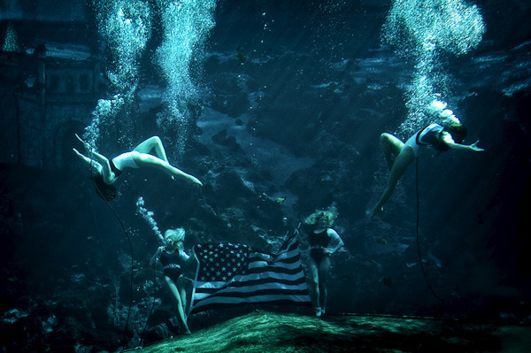 Weeki-Wachee, Florida, 2011. From America project.