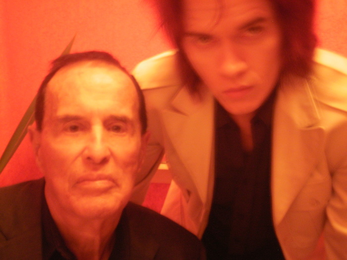 Kenneth Anger & Nick Zedd, 2012.