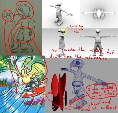 Tales From The Tube concept art from Cal State Fullerton animation team.