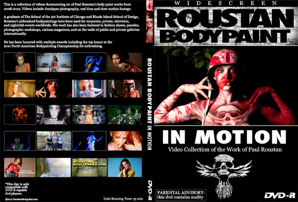 Roustan Body Paint: In Motion DVD
