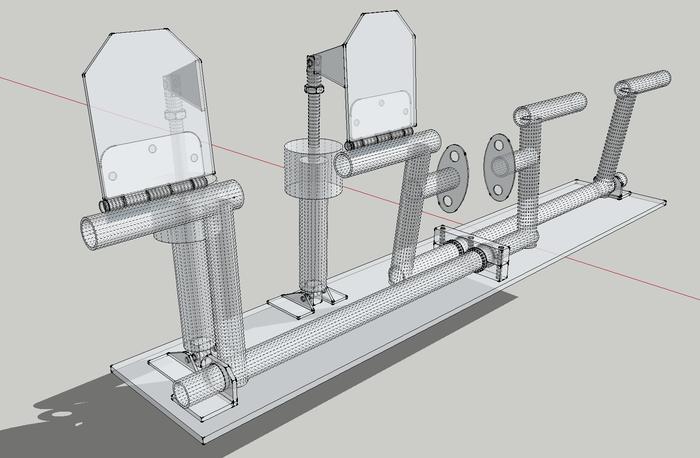 MakerPlane Rudder and Brake Design