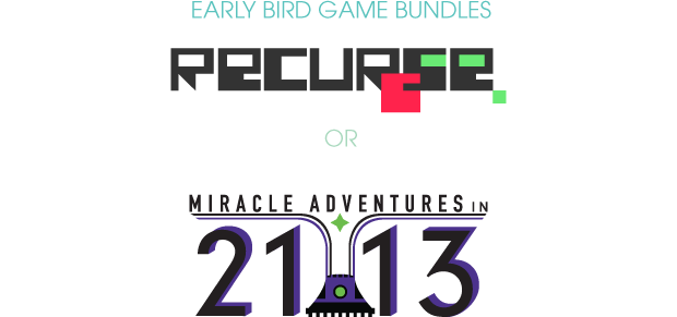 Pledge $20 or more and you'll be able to select one of the games packages. Only 60 available!